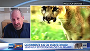 Photo from CNN interview on USDA war on wildlife