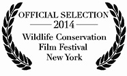 Photo - official selection 2014 Wildlife Conservation Film Festival